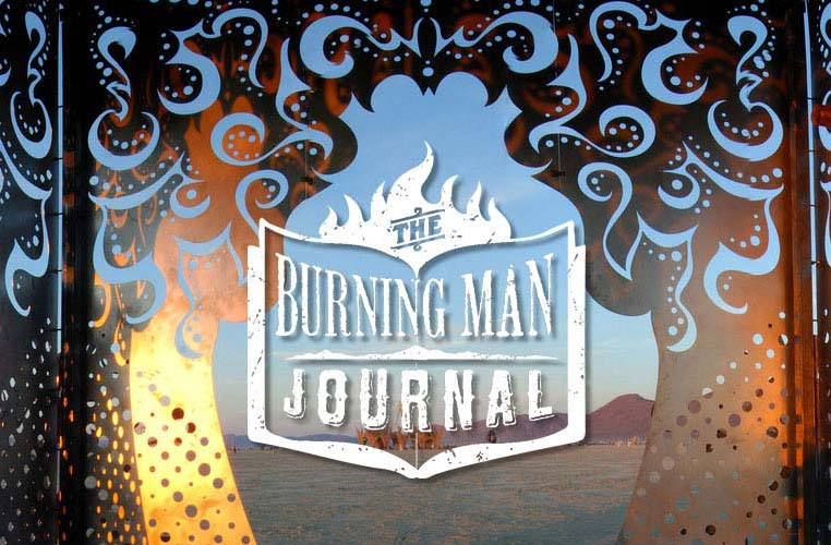 """Red Tea Ceremony was posted in a """"Burning Man Journal"""""""
